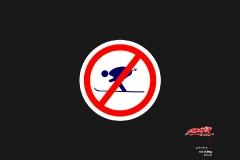 yabasta t-shirt no skiing 02