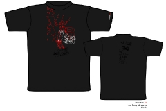 yabasta t-shirt red line 01