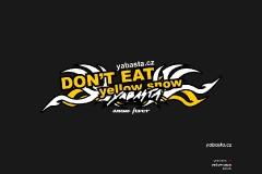 yabasta t-shirt yellow snow 02